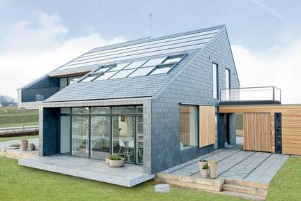 the design of the polish plus energy house was based on this danish home for life arhus denmark 3 - Conceptual Design House