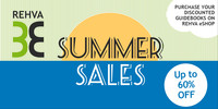 Enjoy the last days of Summer with our Discounted Guidebooks!