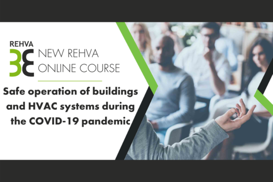 REHVA online course on covid-proof building operation is coming soon!