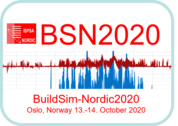 BUILDSIM Nordic 2020 conference– 13-14 October 2020, Oslo, Norway